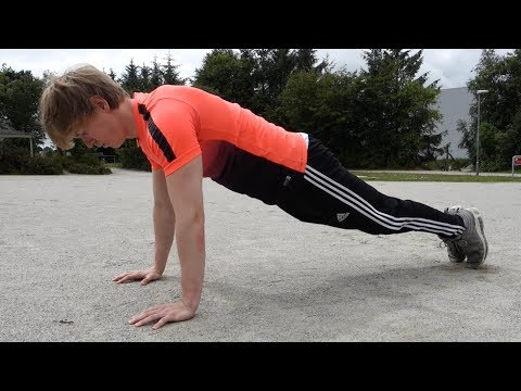 Fastest Way to Do 50 Push Ups In a Row