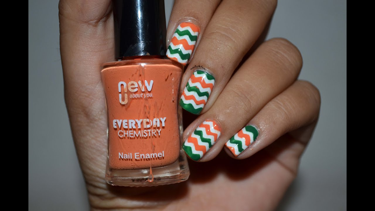70th indian independence inspired day nail art collab with 70th indian independence inspired day nail art collab with nailzfashionista prinsesfo Image collections