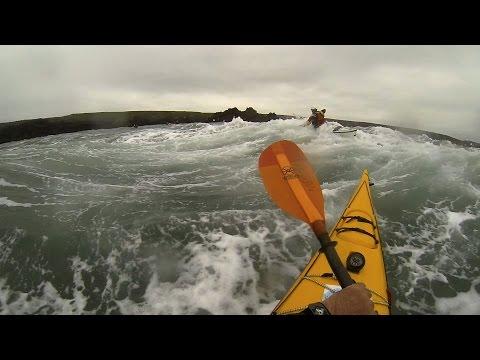 Anglesey Sea Kayak Symposium Rough Water Day