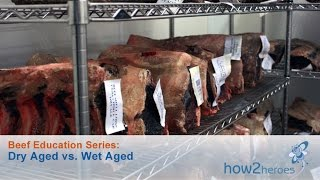 Dry Aged Beef vs Wet Aged Beef: Beef Education Butcher Series