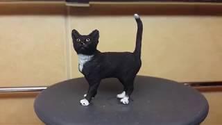 ДЕНЬ КОШЕК (обзор на кошку фирмы Schleich)