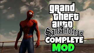 GTA San Andreas Android: Spiderman (Complete Mod)