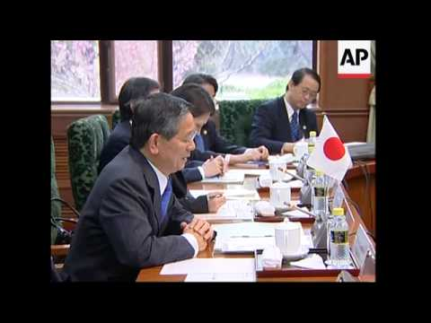 Japanese FM meets Chinese counterpart, comments