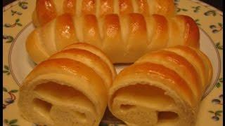 Закусочные булочки с плавленым сыром