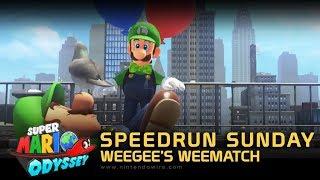 Speedrun Sunday | Weegee's Weematch | Let's Do the Odyssey... again! (Super Mario Odyssey)