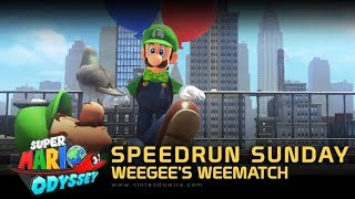 Speedrun Sunday | Weegee's Weematch | Let's Do the Odyssey... again! (Super Mario Odyssey)