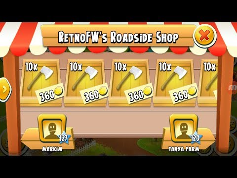 Selling 100: axes | Hay Day Game play