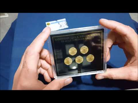 Nationwide Coin And Bullion Reserve Gold 1/10 Oz Eagles