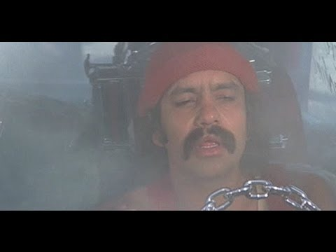 Image result for cheech and chong coming out of their van