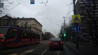 . Москва-Люберцы. 30 марта 2019 г. Поездка на автомобиле по городу