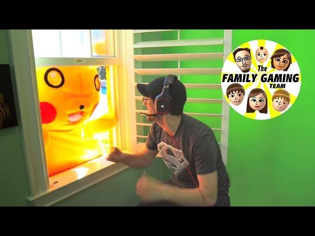 Pokemon GO DEER HIT Accident playing GEN 2 80+ New Monsters Madness Massive Update! FGTEEV #22