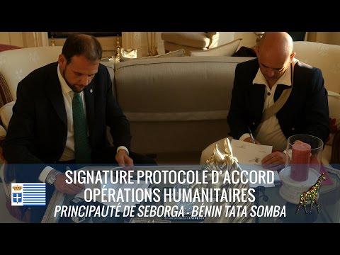 Protocole pour opérations humanitaires avec Bénin Tata Somba - Protocollo per operazioni umanitarie