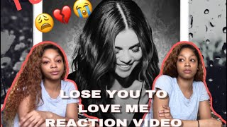 SELENA GOMEZ - Lose you to love me / REACTION VIDEO ‼️ I CRIED 💔😭