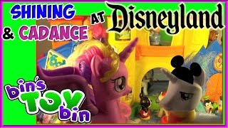 My Little Pony Cadance & Shining Armor at Disneyland! Princesses & Mickey Mouse! by Bin