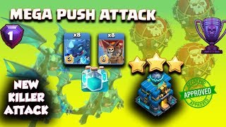 New Killer TH12 Attack Strategy 2018! NEW KillerElectro Dragon Attack with LavaLoon | Clash of Clans