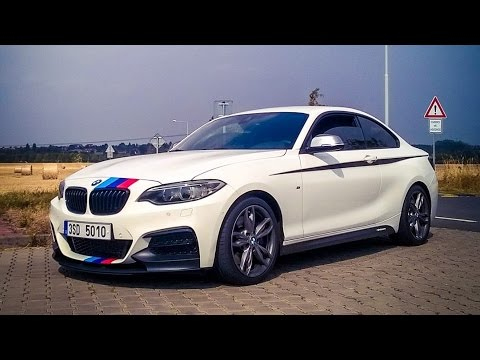 pure sound bmw m235i m performance exhaust note youtube. Black Bedroom Furniture Sets. Home Design Ideas