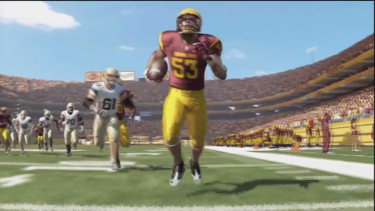 Ncaa Football 12 Online Dynasty Pac12 Week 1 Arizona State