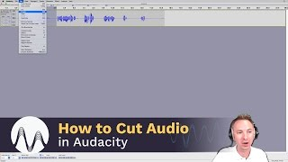 How to Cut Audio in Audacity