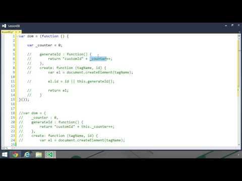 04 Modules: 01 The Basic Module Pattern