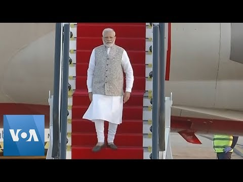 India's Prime Minister Modi Arrives in Brazil for BRICS Summit