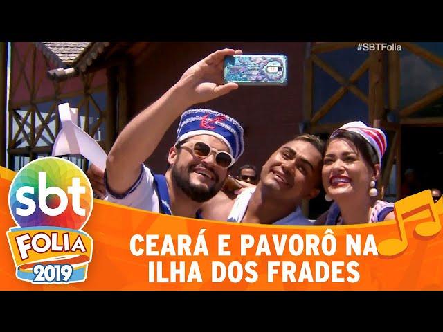 Matheus Ceará e Milene Pavorô conhecem a Ilha dos Frades | SBT Folia 2019