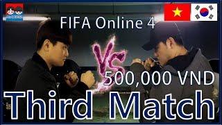 Third match:Soccer game(FIFA ONLINE 4), Bạn bè Hàn Quốc đã đặt cược-Trận đấu thứ ba:Trò chơi bóng đá