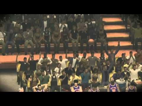 Gail Goodrich buzzer beater NBA 2k12