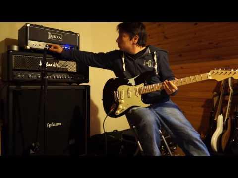 Laboga Caiman 50w head - Splawn 4x12 - Fender classic player 60s w/ allparts smo-fat