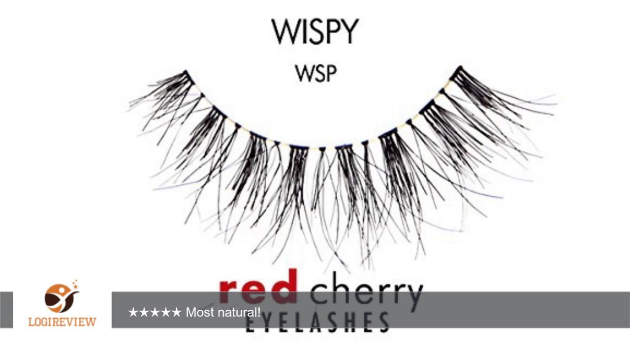 Red Cherry Wsp False Eyelashes Pack Of 6 Pairs Reviewtest