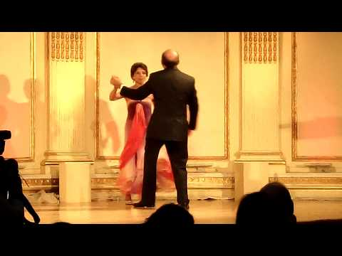 Nomi Ghez and Michael Siegal Dance at NY Red Cross Ball