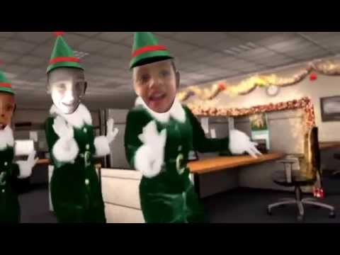 Elf yourself get this free app it's very funny create you own now.