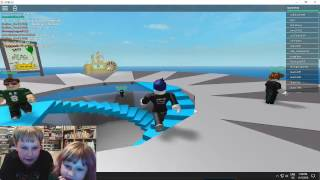 My First Video! - Roblox with Marcus!