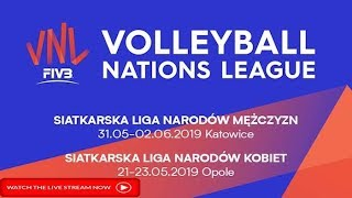 FIVB Open Volleyball Men's Nations League USA Vs. Japan LIVE