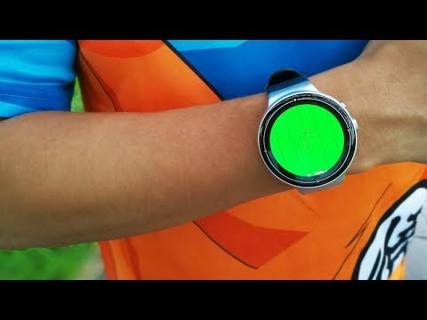 REAL LIFE Dragon Ball Radar?! I4 AIR Android Smartwatch Review 2GB RAM Facebook Whatsapp Video Call