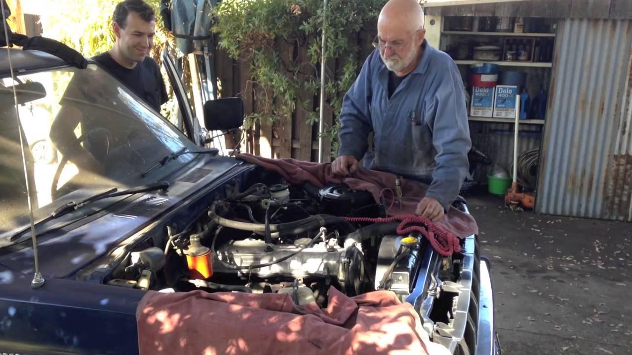 Toyota Diesel L Engine Rebuild LN40 Hilux 2 2l
