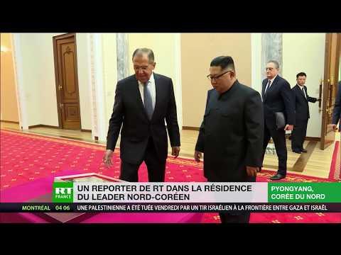 Un reporter de RT dans la résidence de Kim Jong-un