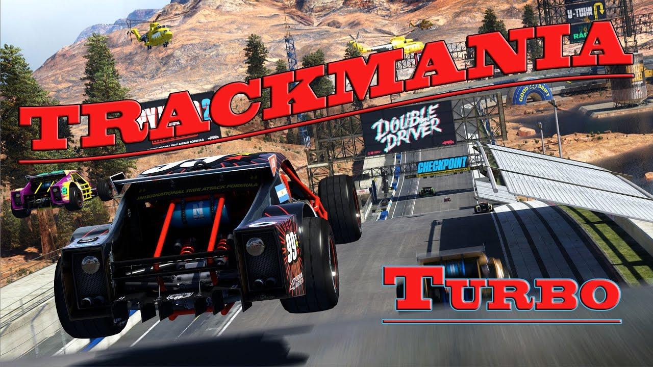 Trackmania Turbo - а ты играл в эти гонки по треку?