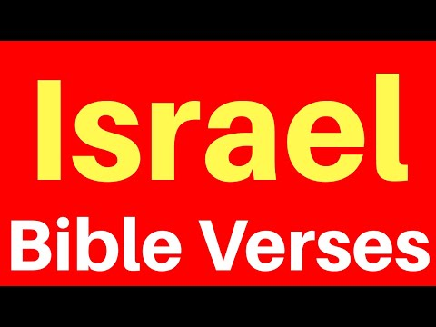 10 Bible Verses On Israel | Get Encouraged