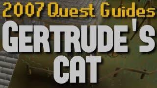 Runescape 2007 Quest Guides: Gertrude