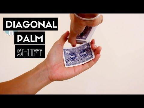 Diagonal Palm Shift // Advanced Card Palming Tutorial