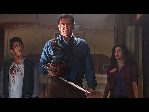 Naomi Gets Super Scared In The Ash vs. Evil Dead Camper - IGN Access