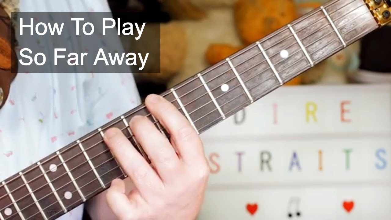 how to play far away on guitar