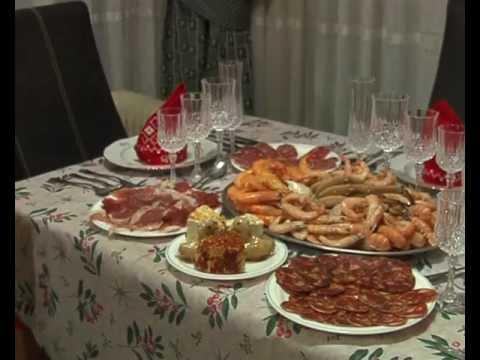 Cena de nochebuena en casa del tobalto youtube - Ideas para cena de nochebuena ...