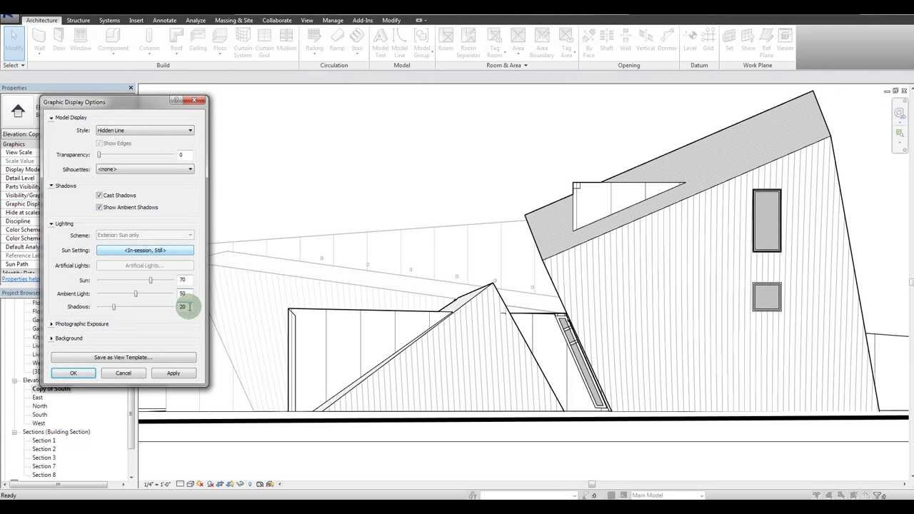 Revit Tutorial Adding Depth To Your Elevations Youtube