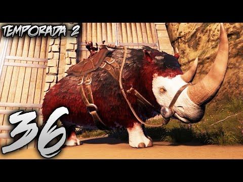OMG! EL SUPER RHINO ALPHA Y LAS GRANADAS DE TAMEO! | SOLO EN LA ISLA #36 | Temporada 2