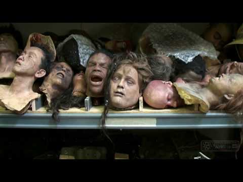 Exclusive tour of Greg Nicotero and Howard Berger's KNB EFX Studio. Narnia, Walking Dead, more