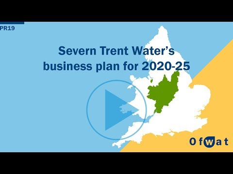 Severn Trent Water's Business Plan For 2020-25