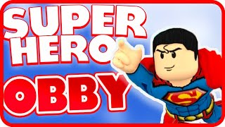 Kids Gaming Roblox Superhero Obby - Ryan's Gaming Channel