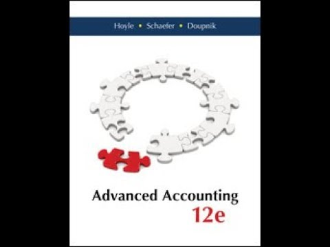 Advanced Accounting Hoyle 12e Chapter 3 Solutions 3