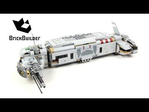 Lego Star Wars 75140 Resistance Troop Transporter - Lego Speed Build